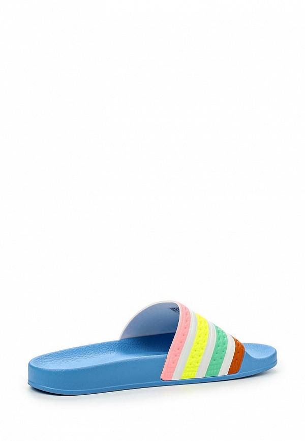 Женские сланцы Adidas Originals (Адидас Ориджиналс) S75566: изображение 2