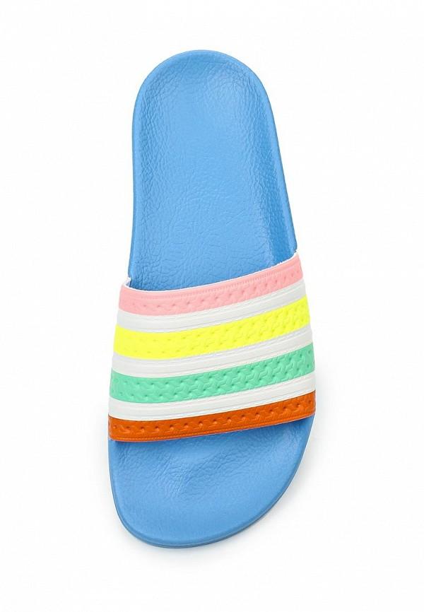 Женские сланцы Adidas Originals (Адидас Ориджиналс) S75566: изображение 4