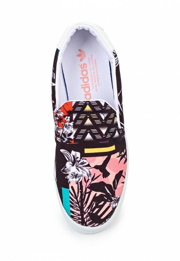Женские слипоны Adidas Originals (Адидас Ориджиналс) S75720: изображение 4