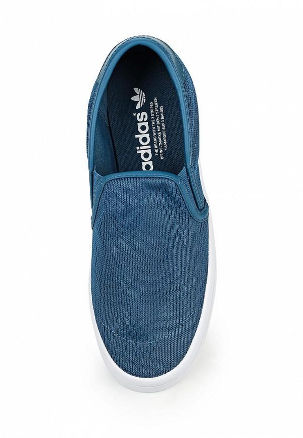 Женские слипоны Adidas Originals (Адидас Ориджиналс) S75723: изображение 4