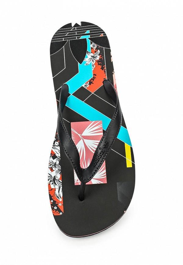 Женские сланцы Adidas Originals (Адидас Ориджиналс) S78843: изображение 4