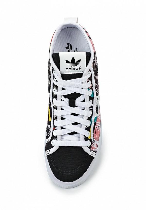 Женские кеды на танкетке Adidas Originals (Адидас Ориджиналс) S78886: изображение 4