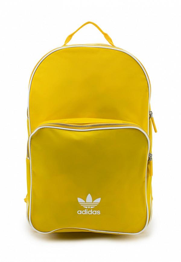 Купить Рюкзак adidas Originals, adidas Originals AD093BUALQV7, желтый, Весна-лето 2018
