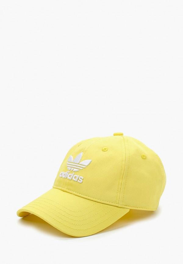 Купить Бейсболка adidas Originals, adidas Originals AD093CUALQS8, желтый, Весна-лето 2018