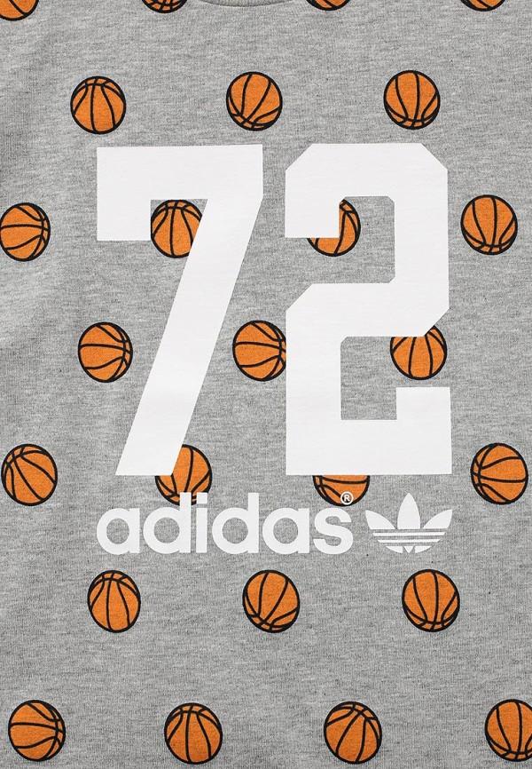 Футболка с коротким рукавом Adidas Originals (Адидас Ориджиналс) AJ0222: изображение 3