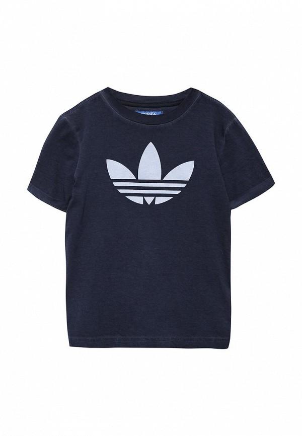 Футболка с коротким рукавом Adidas Originals (Адидас Ориджиналс) AJ0295: изображение 1