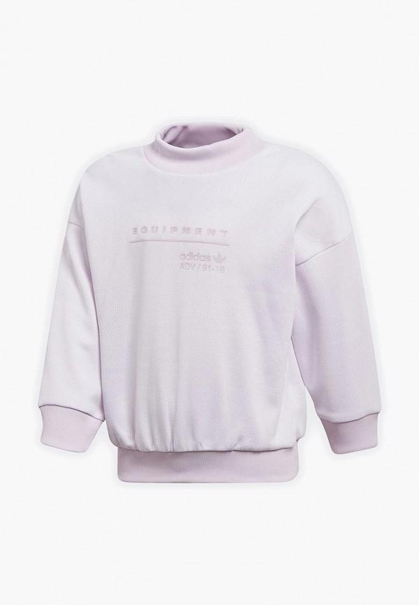 Свитшот adidas Originals, adidas Originals AD093EGALQJ5, розовый, Весна-лето 2018  - купить со скидкой