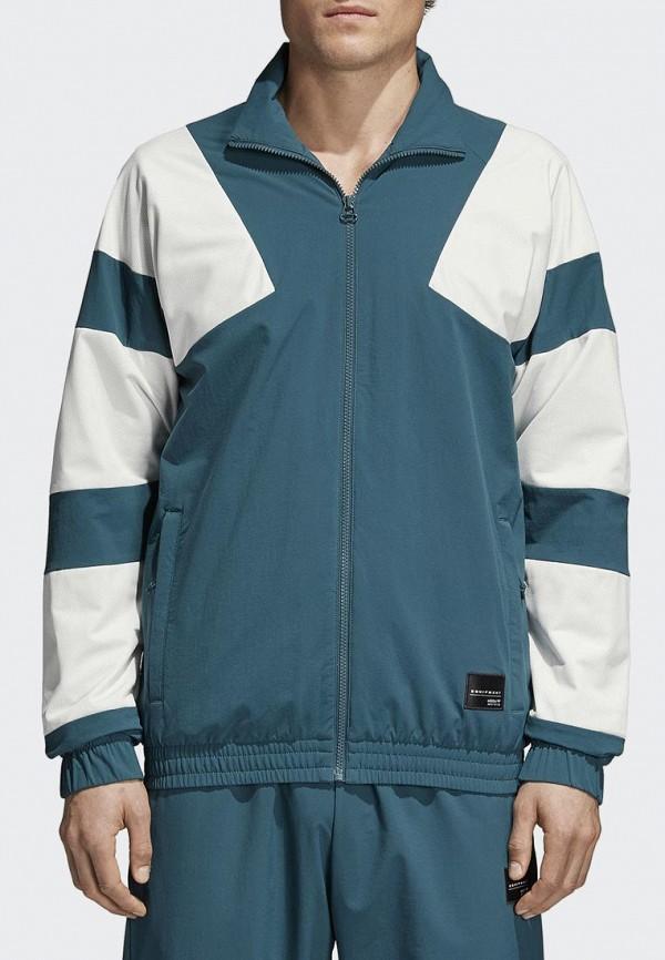Купить Олимпийка adidas Originals, adidas Originals AD093EMALOA2, голубой, Весна-лето 2018