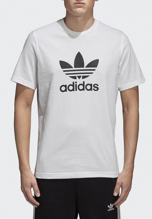 Купить Футболка adidas Originals, adidas Originals AD093EMALOG6, белый, Весна-лето 2018