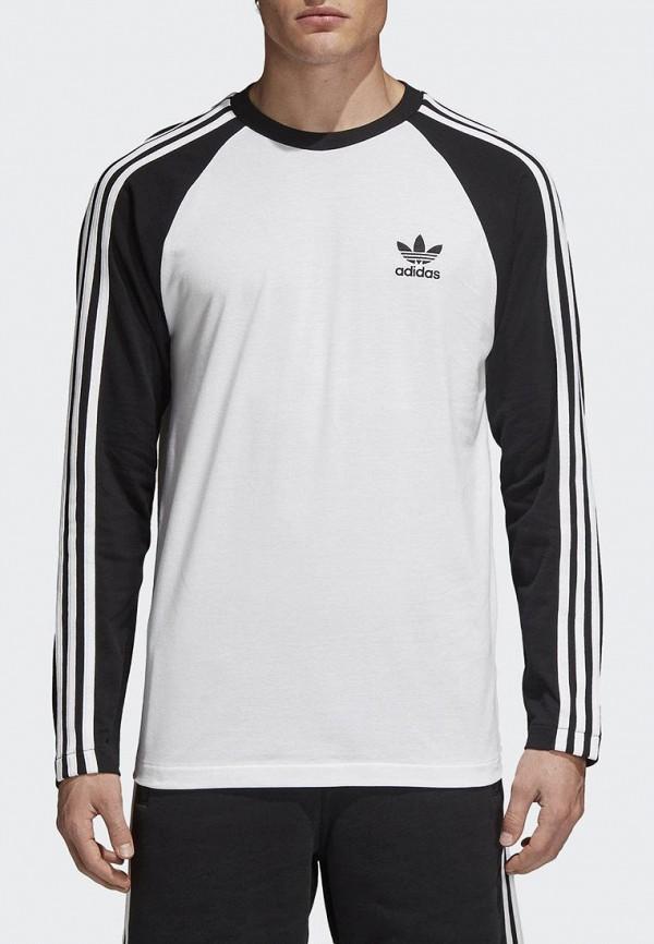 Купить Лонгслив adidas Originals, adidas Originals AD093EMALOH4, белый, Весна-лето 2018