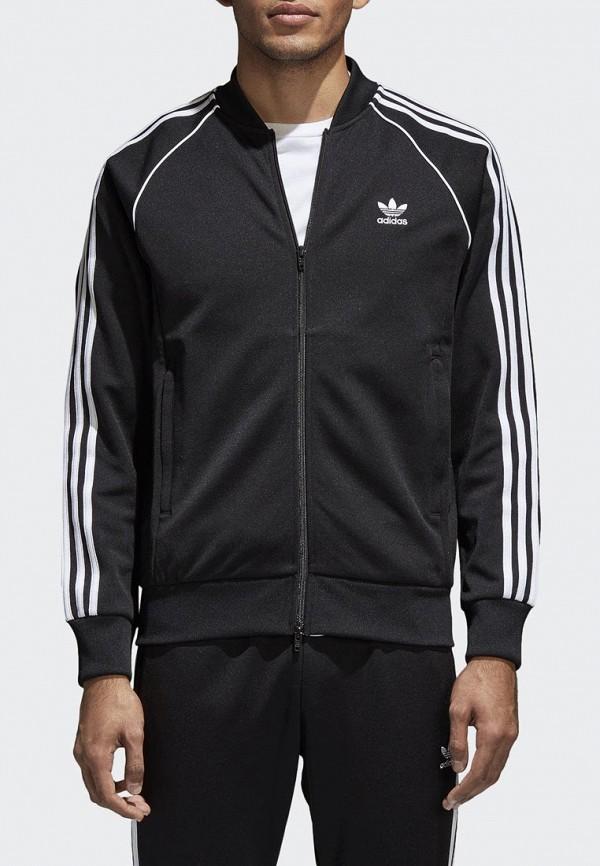 Купить Олимпийка adidas Originals, adidas Originals AD093EMALOJ0, черный, Весна-лето 2018