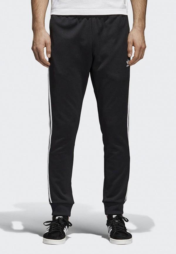 Брюки спортивные adidas Originals, adidas Originals AD093EMALOJ7, черный, Весна-лето 2018  - купить со скидкой