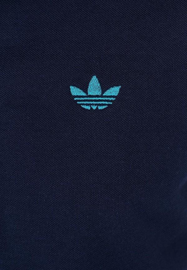 Мужские поло Adidas Originals (Адидас Ориджиналс) W69260: изображение 4
