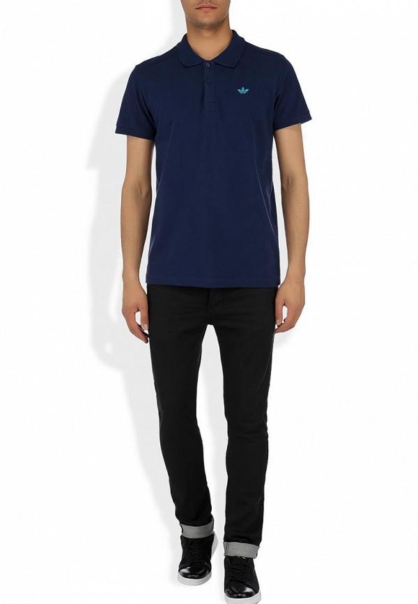 Мужские поло Adidas Originals (Адидас Ориджиналс) W69260: изображение 6