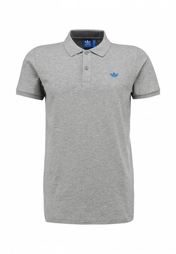 Мужские поло Adidas Originals (Адидас Ориджиналс) W64460: изображение 1