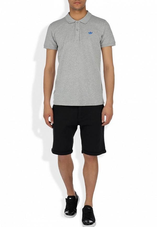 Мужские поло Adidas Originals (Адидас Ориджиналс) W64460: изображение 7