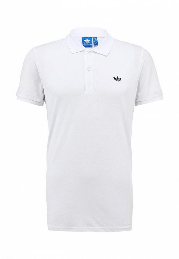 Мужские поло Adidas Originals (Адидас Ориджиналс) W69259: изображение 1