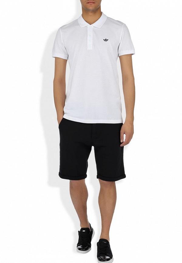 Мужские поло Adidas Originals (Адидас Ориджиналс) W69259: изображение 6