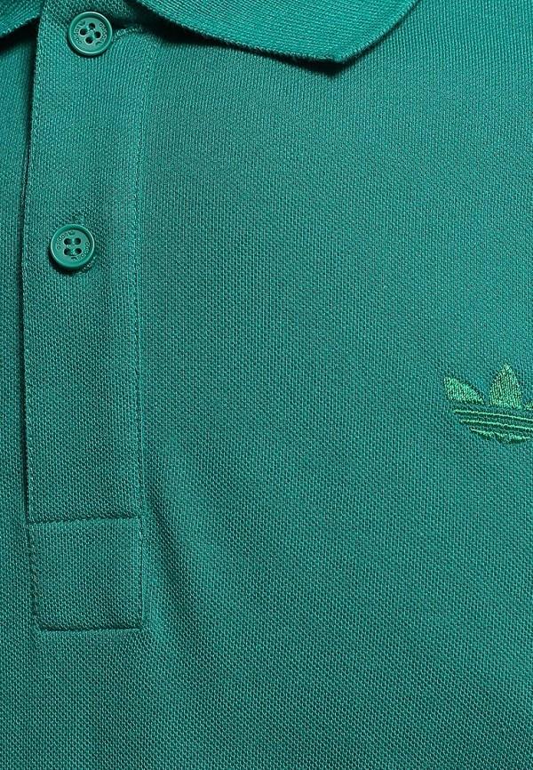 Мужские поло Adidas Originals (Адидас Ориджиналс) M30150: изображение 3