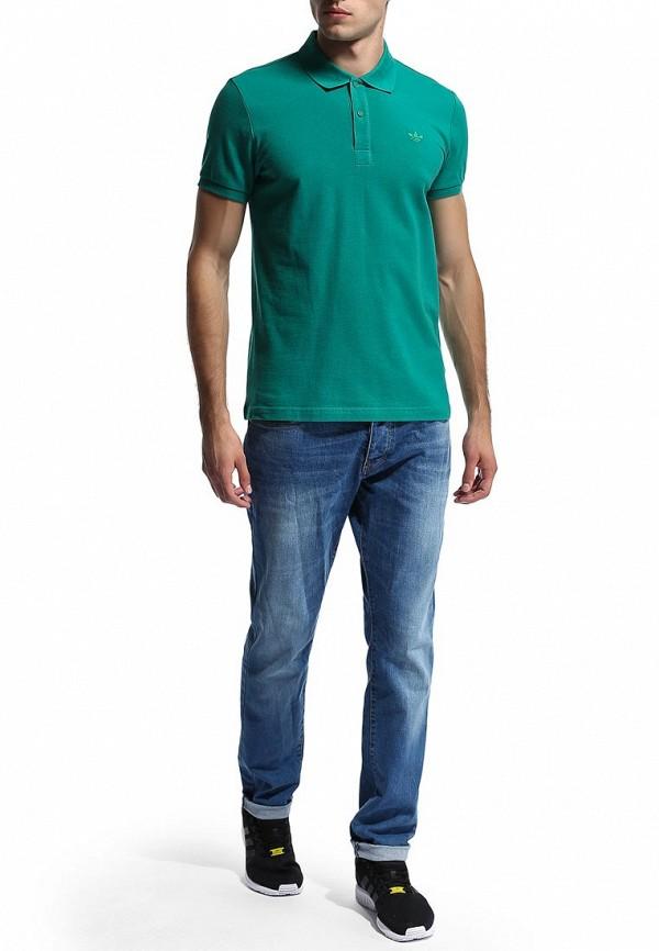 Мужские поло Adidas Originals (Адидас Ориджиналс) M30150: изображение 5