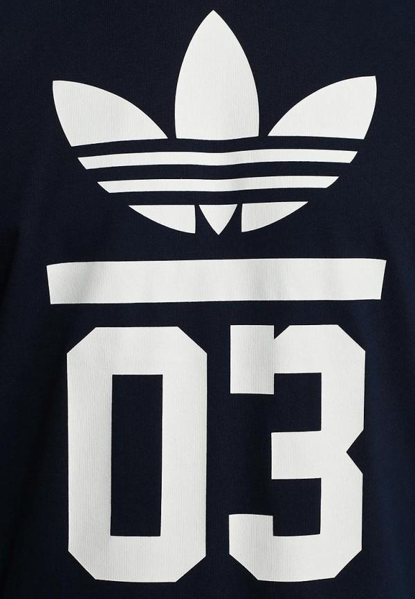 Футболка с надписями Adidas Originals (Адидас Ориджиналс) M30250: изображение 3