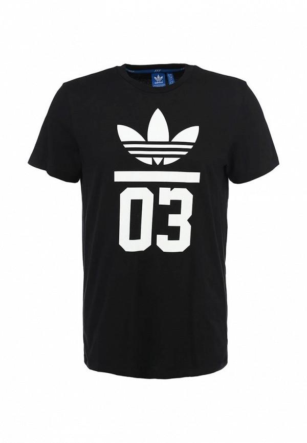 Футболка с надписями Adidas Originals (Адидас Ориджиналс) M30252: изображение 1