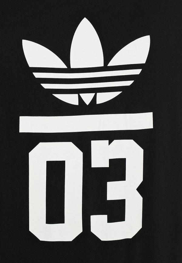 Футболка с надписями Adidas Originals (Адидас Ориджиналс) M30252: изображение 3