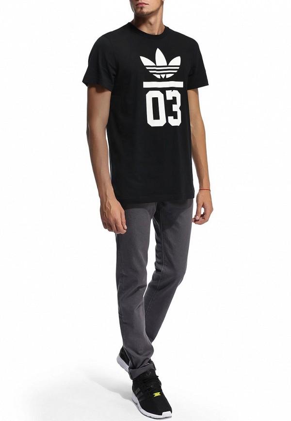Футболка с надписями Adidas Originals (Адидас Ориджиналс) M30252: изображение 5