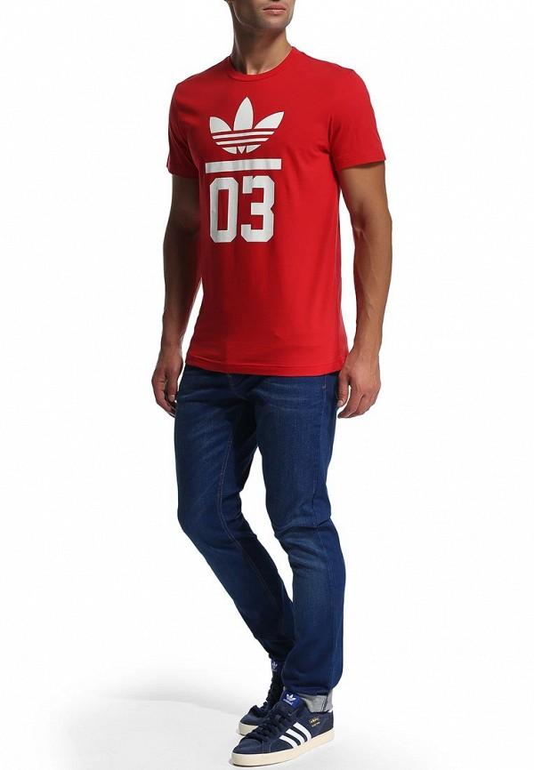 Спортивная футболка Adidas Originals (Адидас Ориджиналс) M30254: изображение 5