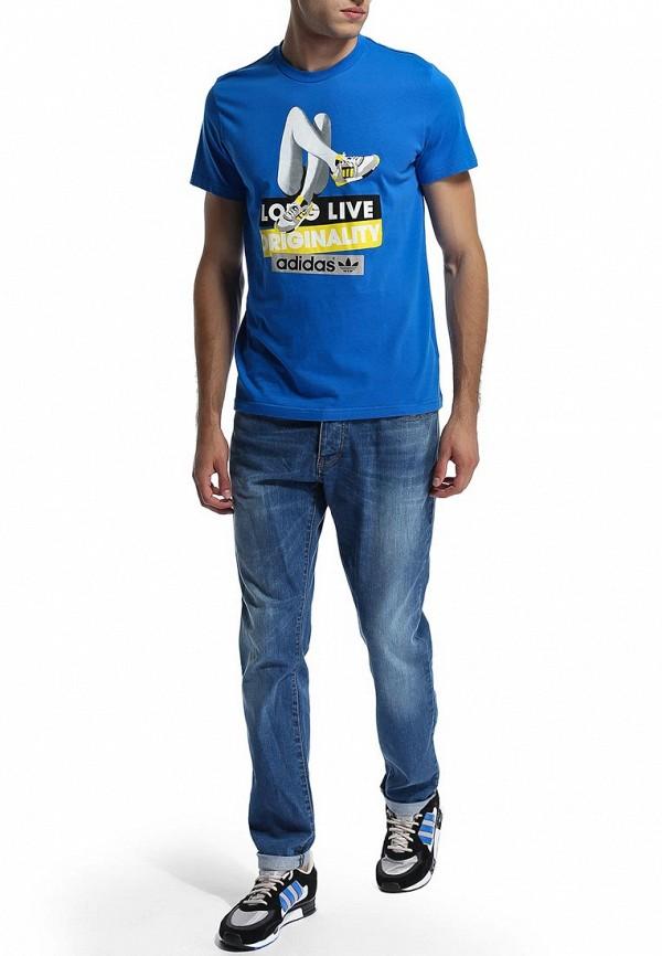 Спортивная футболка Adidas Originals (Адидас Ориджиналс) M69237: изображение 3