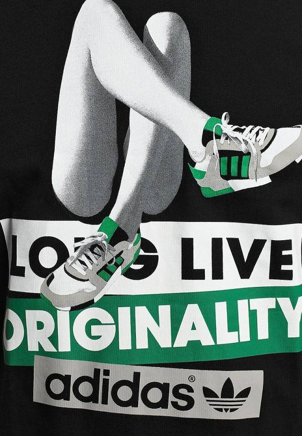 Футболка с надписями Adidas Originals (Адидас Ориджиналс) M69239: изображение 3