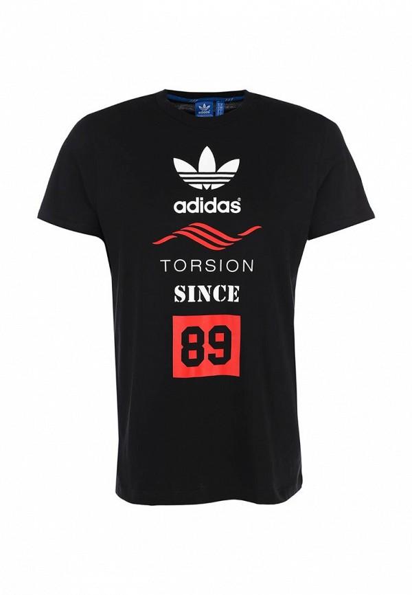 Футболка с надписями Adidas Originals (Адидас Ориджиналс) M69328: изображение 1