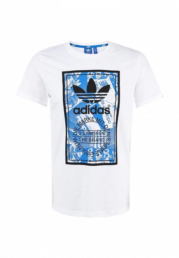 Футболка с надписями Adidas Originals (Адидас Ориджиналс) M69334: изображение 1