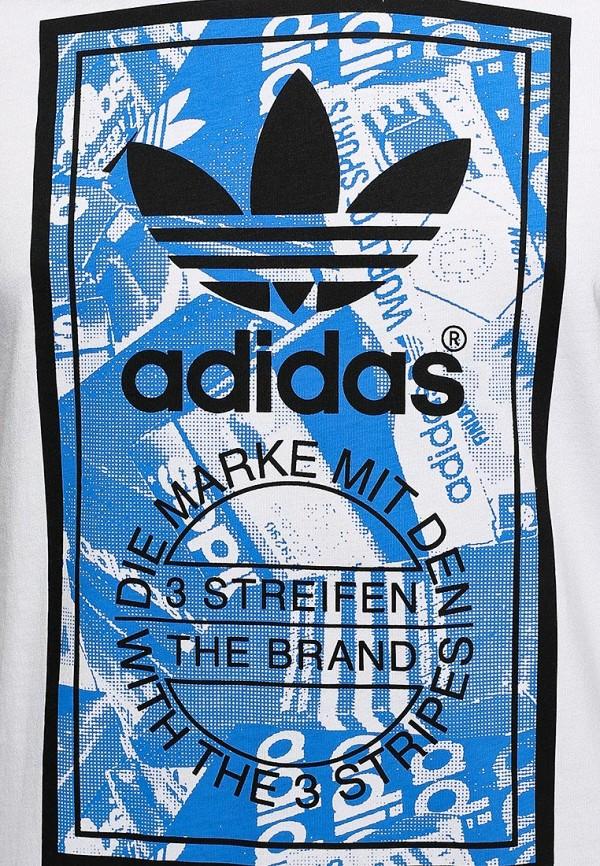 Футболка с надписями Adidas Originals (Адидас Ориджиналс) M69334: изображение 3