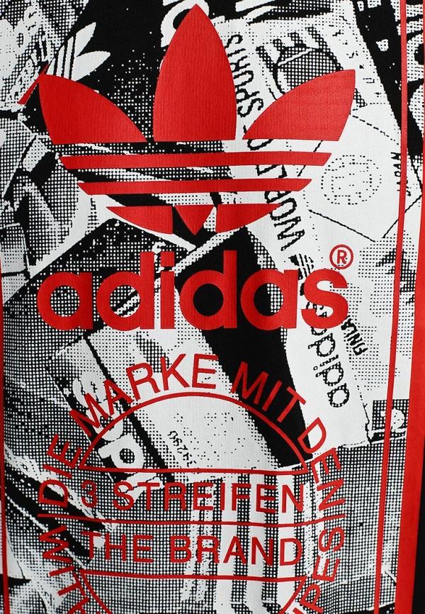 Футболка с надписями Adidas Originals (Адидас Ориджиналс) M69335: изображение 3