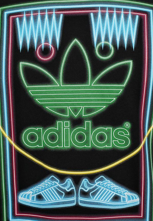 Футболка с надписями Adidas Originals (Адидас Ориджиналс) M69336: изображение 3