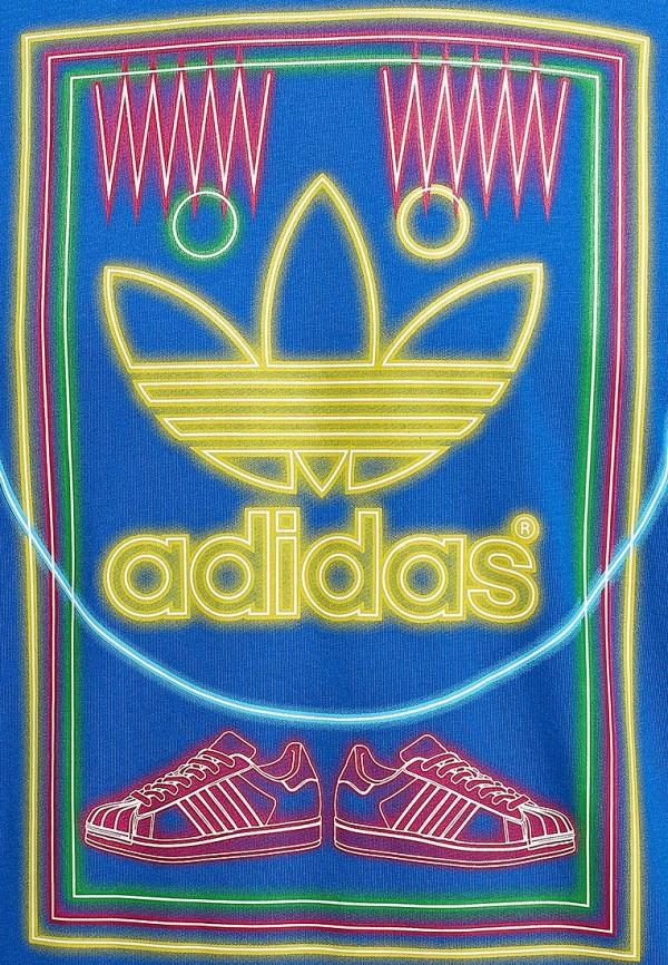 Футболка с надписями Adidas Originals (Адидас Ориджиналс) M69337: изображение 3