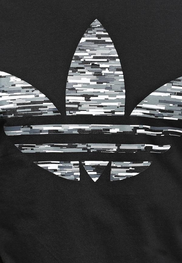 Футболка с надписями Adidas Originals (Адидас Ориджиналс) S08229: изображение 2