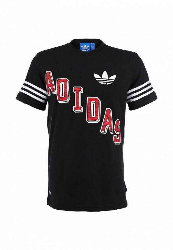 Футболка с надписями Adidas Originals (Адидас Ориджиналс) B22230: изображение 1