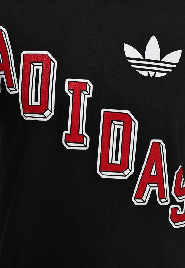 Футболка с надписями Adidas Originals (Адидас Ориджиналс) B22230: изображение 3