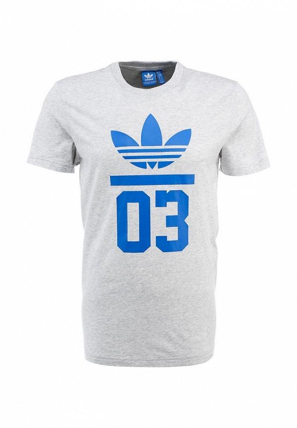 Футболка с коротким рукавом Adidas Originals (Адидас Ориджиналс) S18517: изображение 1