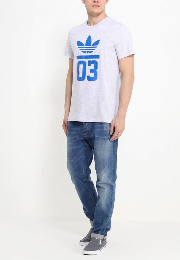 Футболка с коротким рукавом Adidas Originals (Адидас Ориджиналс) S18517: изображение 3