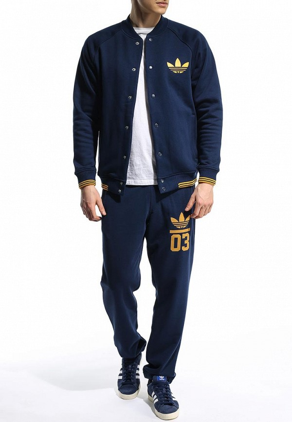Мужские спортивные брюки Adidas Originals (Адидас Ориджиналс) S18609: изображение 3