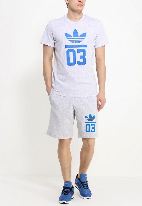 Мужские спортивные шорты Adidas Originals (Адидас Ориджиналс) S18620: изображение 3
