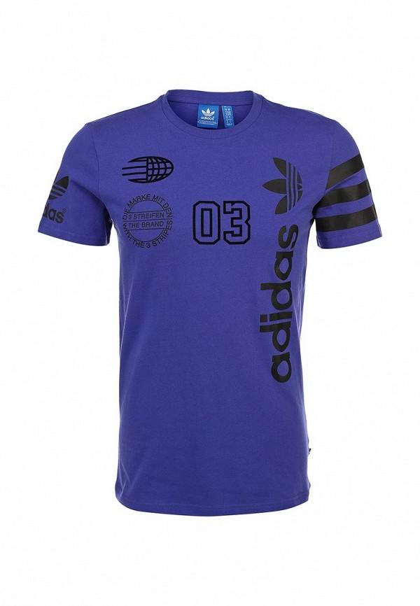 Футболка с надписями Adidas Originals (Адидас Ориджиналс) S18629: изображение 1
