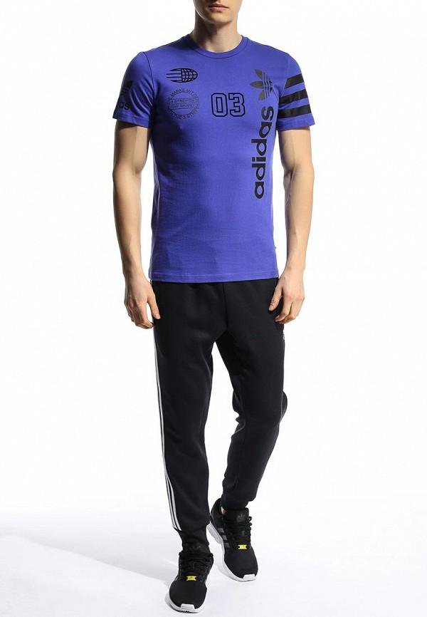 Футболка с надписями Adidas Originals (Адидас Ориджиналс) S18629: изображение 3