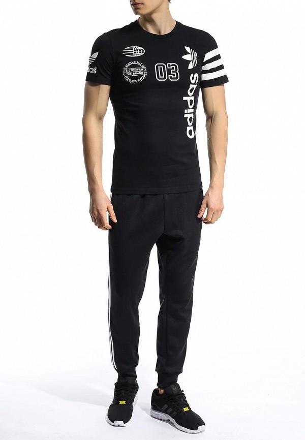 Футболка с надписями Adidas Originals (Адидас Ориджиналс) S18630: изображение 3