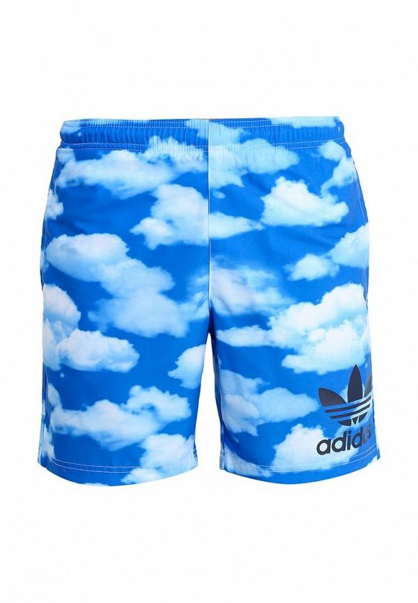 Мужские шорты для плавания Adidas Originals (Адидас Ориджиналс) S18778: изображение 1