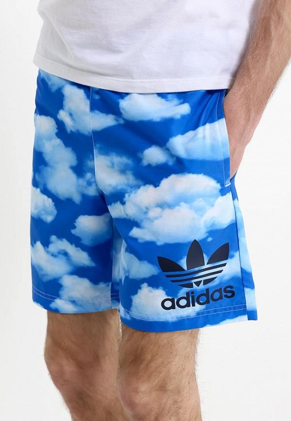 Мужские шорты для плавания Adidas Originals (Адидас Ориджиналс) S18778: изображение 2