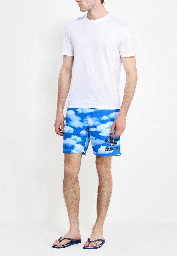 Мужские шорты для плавания Adidas Originals (Адидас Ориджиналс) S18778: изображение 3